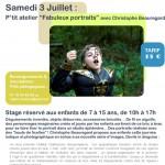 """2010 : """"Fabuleux Portraits"""", CPIF, Pontault-Combault (77)"""