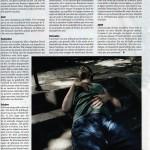 Les Inrockuptibles, décembre 2007. Regis Jauffret.