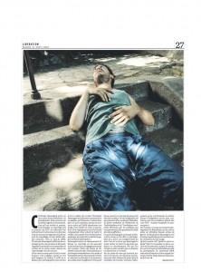 Libération, août 2007. Gérard Lefort.