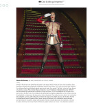 Gloria di Parma, danseuse au Crazy Horse, Paris