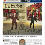 Gilbert & Georges, Le Figaro
